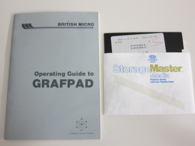Operating Guide to Grafpad